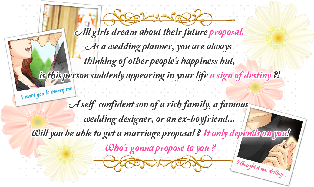 All girls dream about their future proposal.